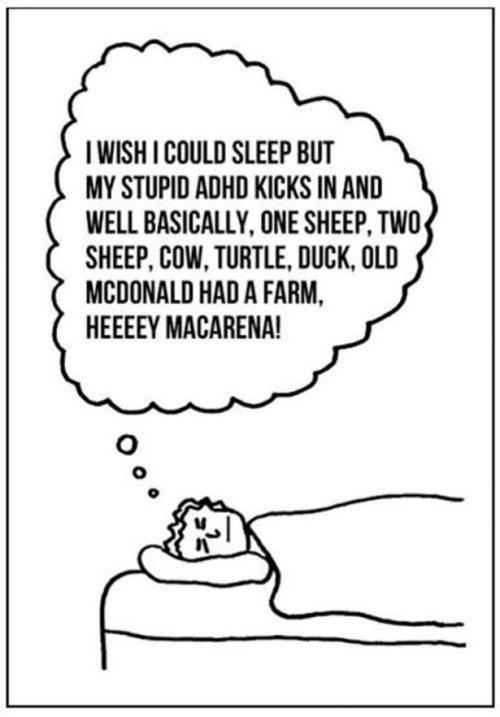 Sometimes Sleep Just Doesn't Come Easy