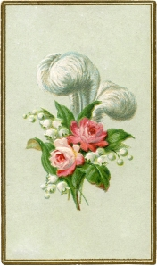 Antique-Feather-Roses-Image-GraphicsFairy